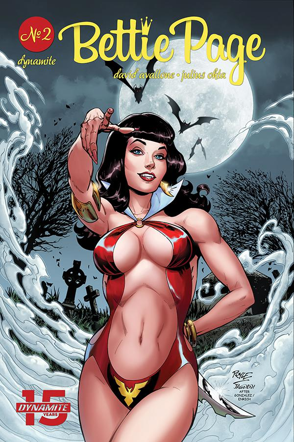 Bettie Page Unbound #2 Cover A Regular John Royle Cover