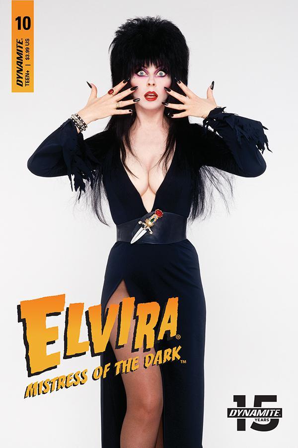 Elvira Mistress Of The Dark Vol 2 #10 Cover D Variant Photo Cover