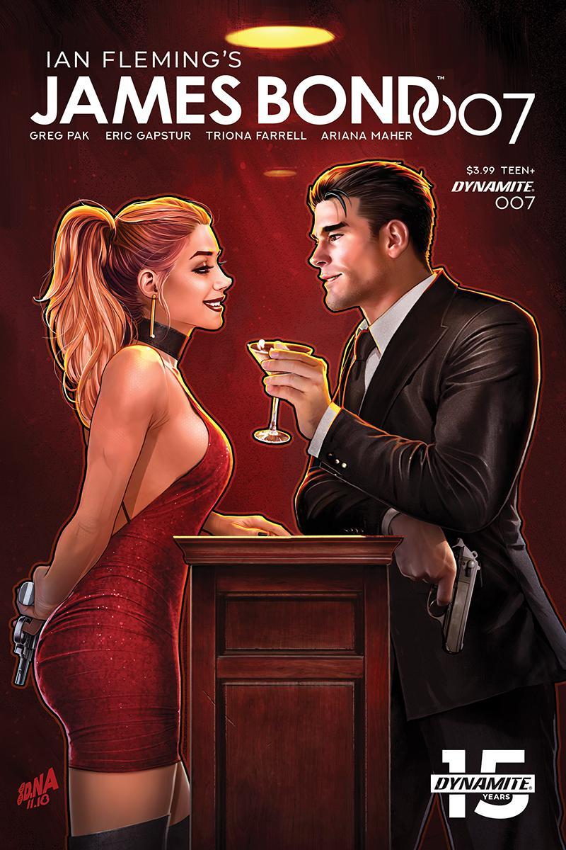 James Bond 007 #7 Cover C Variant David Nakayama Cover
