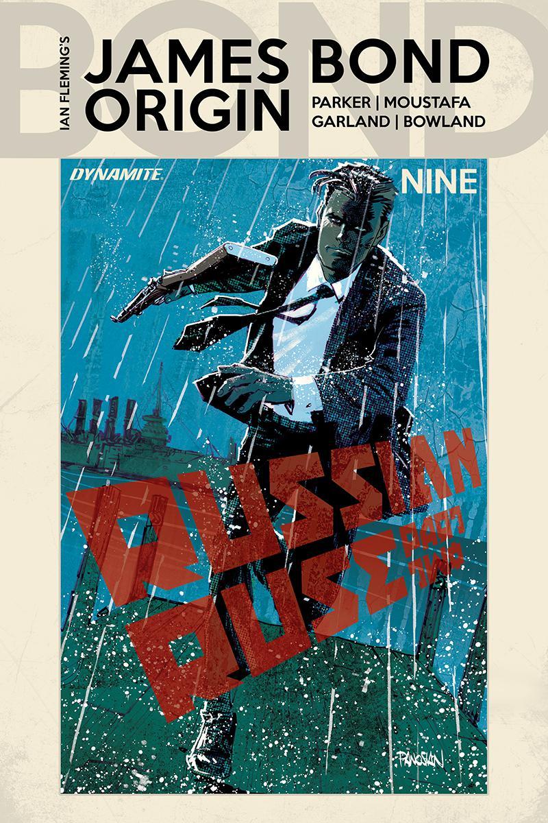 James Bond Origin #9 Cover A Regular Dan Panosian Cover