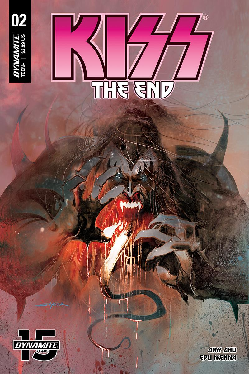 KISS The End #2 Cover A Regular Stuart Sayger Cover