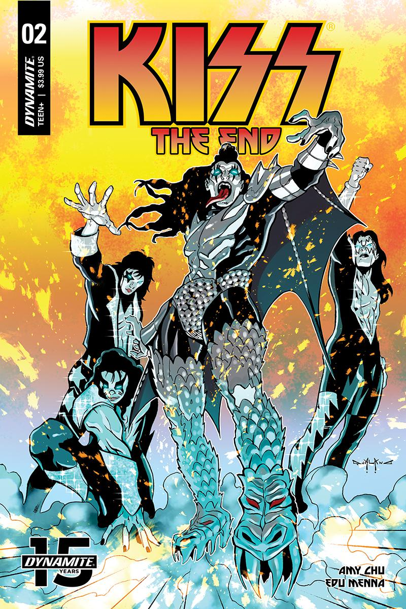 KISS The End #2 Cover C Variant Pasquale Qualano Cover