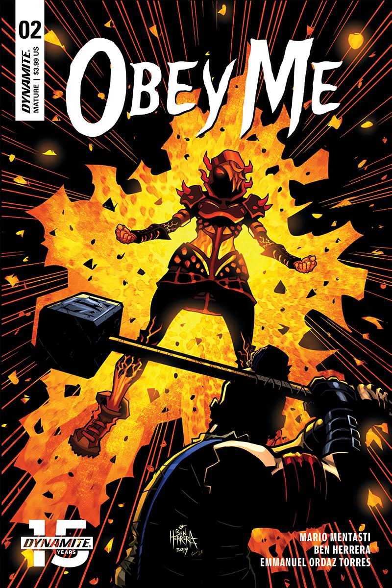 Obey Me #2 Cover A Regular Ben Herrera Cover