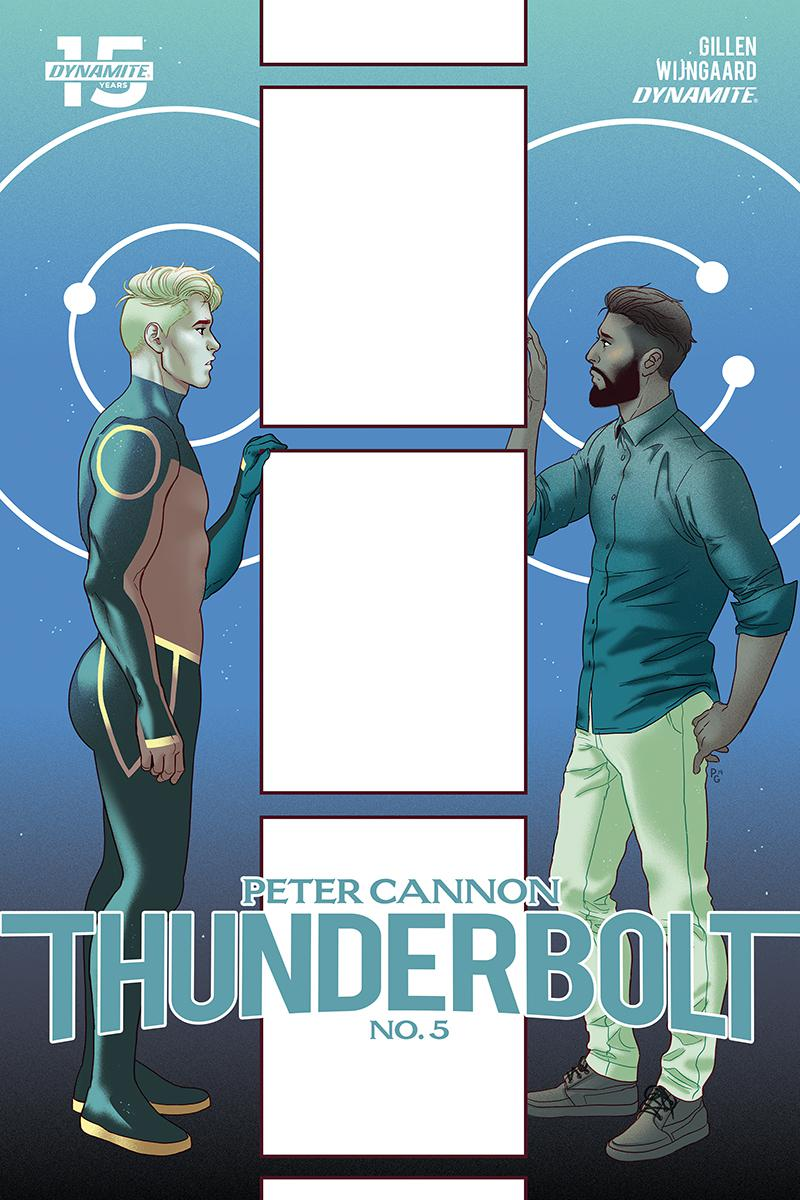 Peter Cannon Thunderbolt Vol 3 #5 Cover B Variant Paulina Ganucheau Cover