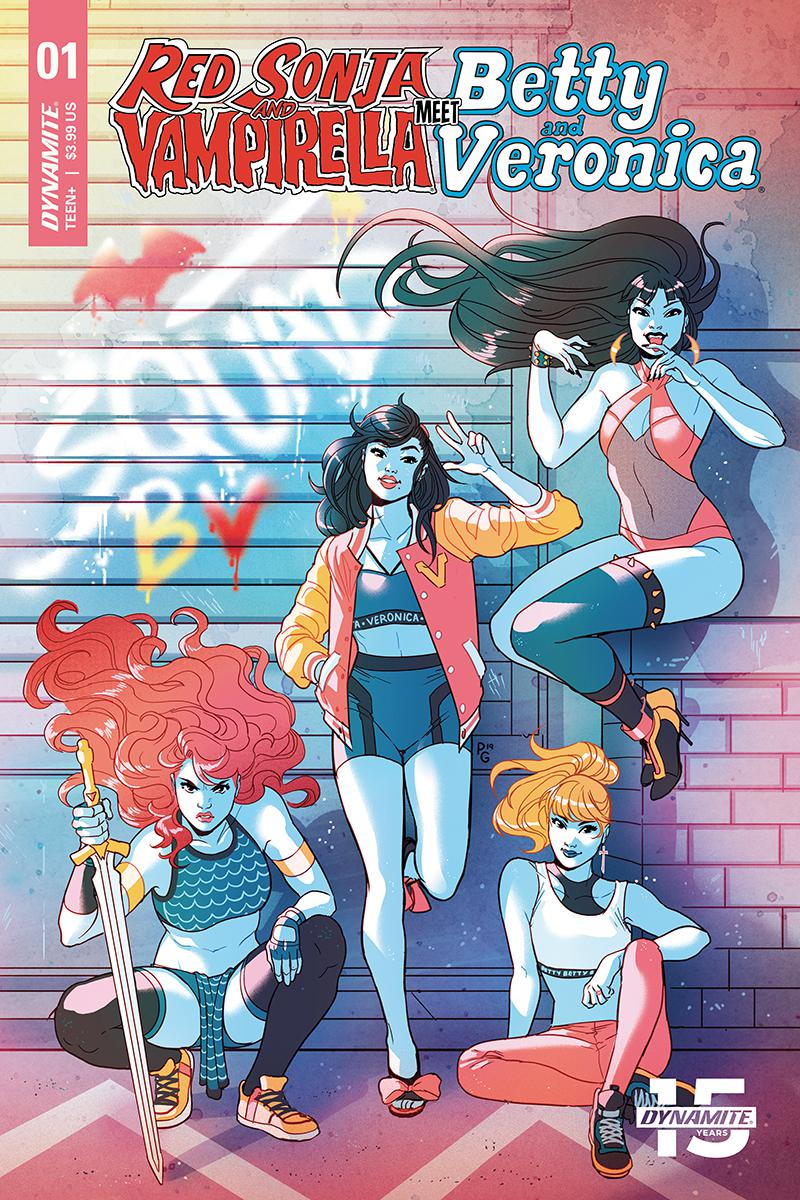 Red Sonja And Vampirella Meet Betty And Veronica #1 Cover D Variant Paulina Ganucheau Cover