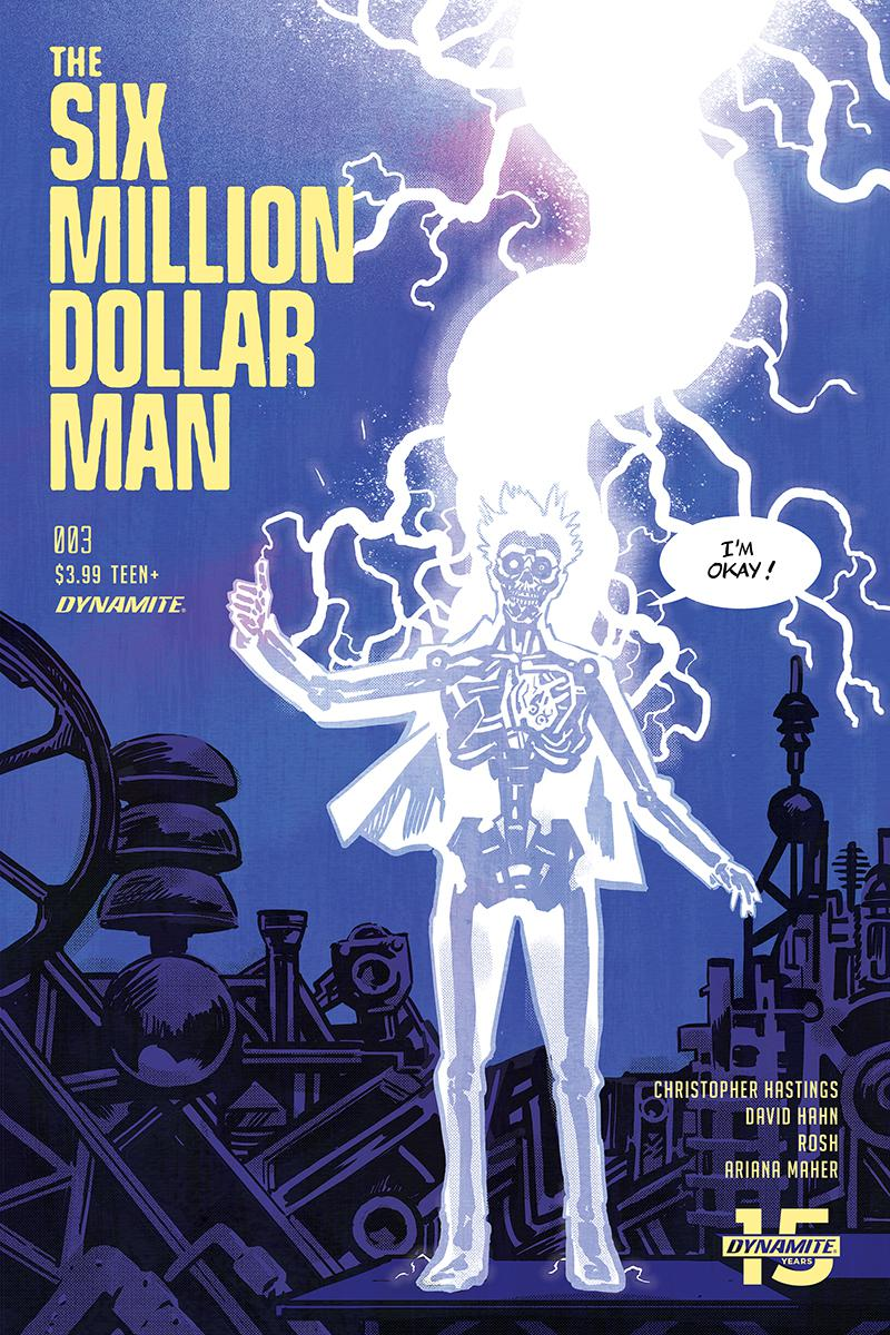 Six Million Dollar Man Vol 2 #3 Cover A Regular Michael Walsh Cover