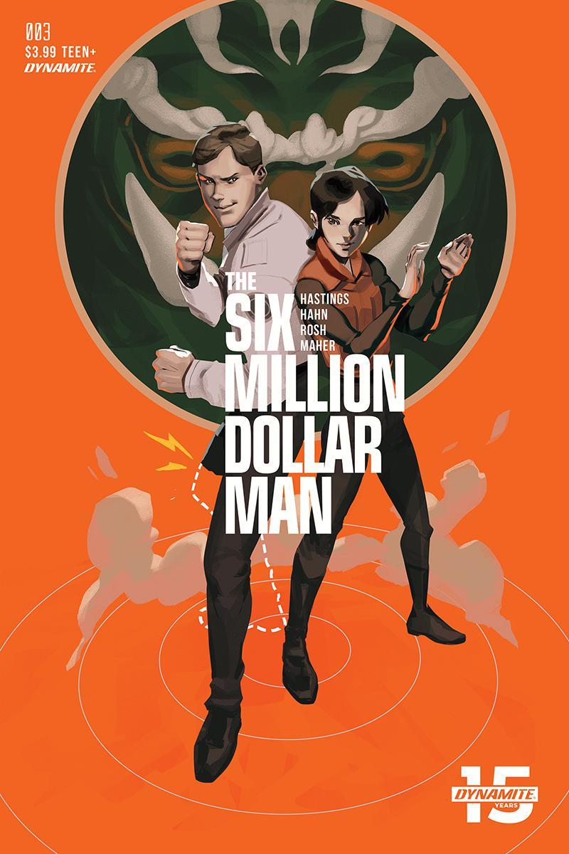 Six Million Dollar Man Vol 2 #3 Cover C Variant Felipe Magana Cover