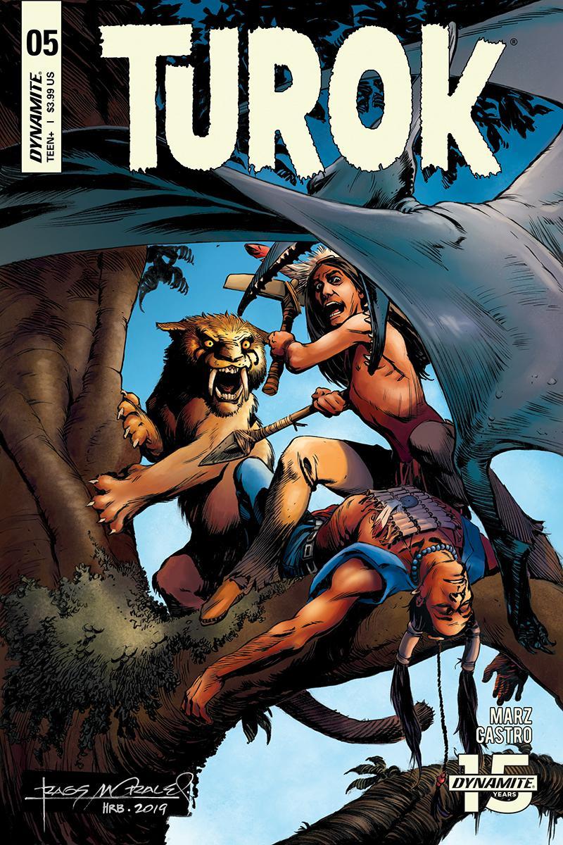 Turok Vol 3 #5 Cover A Regular Rags Morales Cover