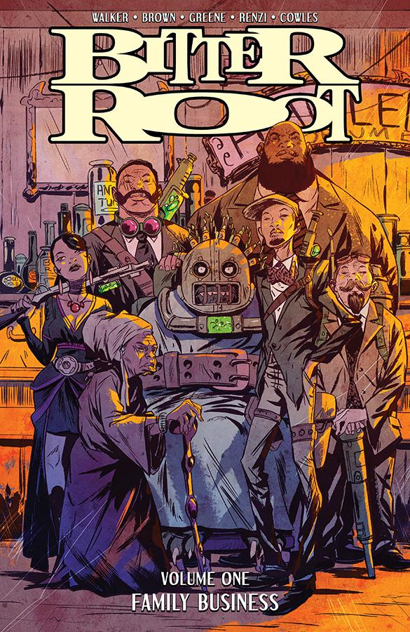 Bitter Root Vol 1 Family Business TP