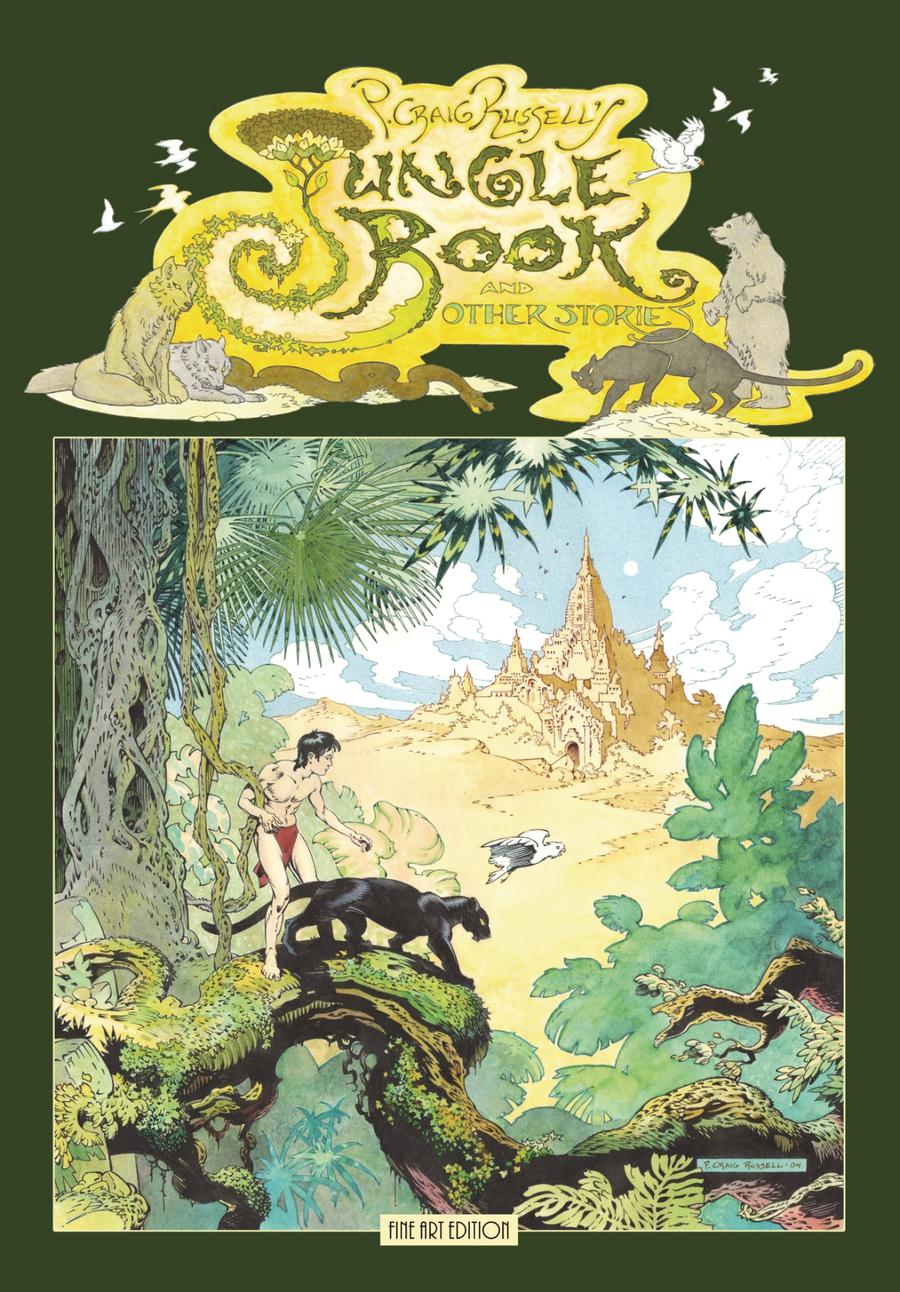 P Craig Russells Jungle Book And Other Stories Fine Art Edition HC Signed & Numbered Edition