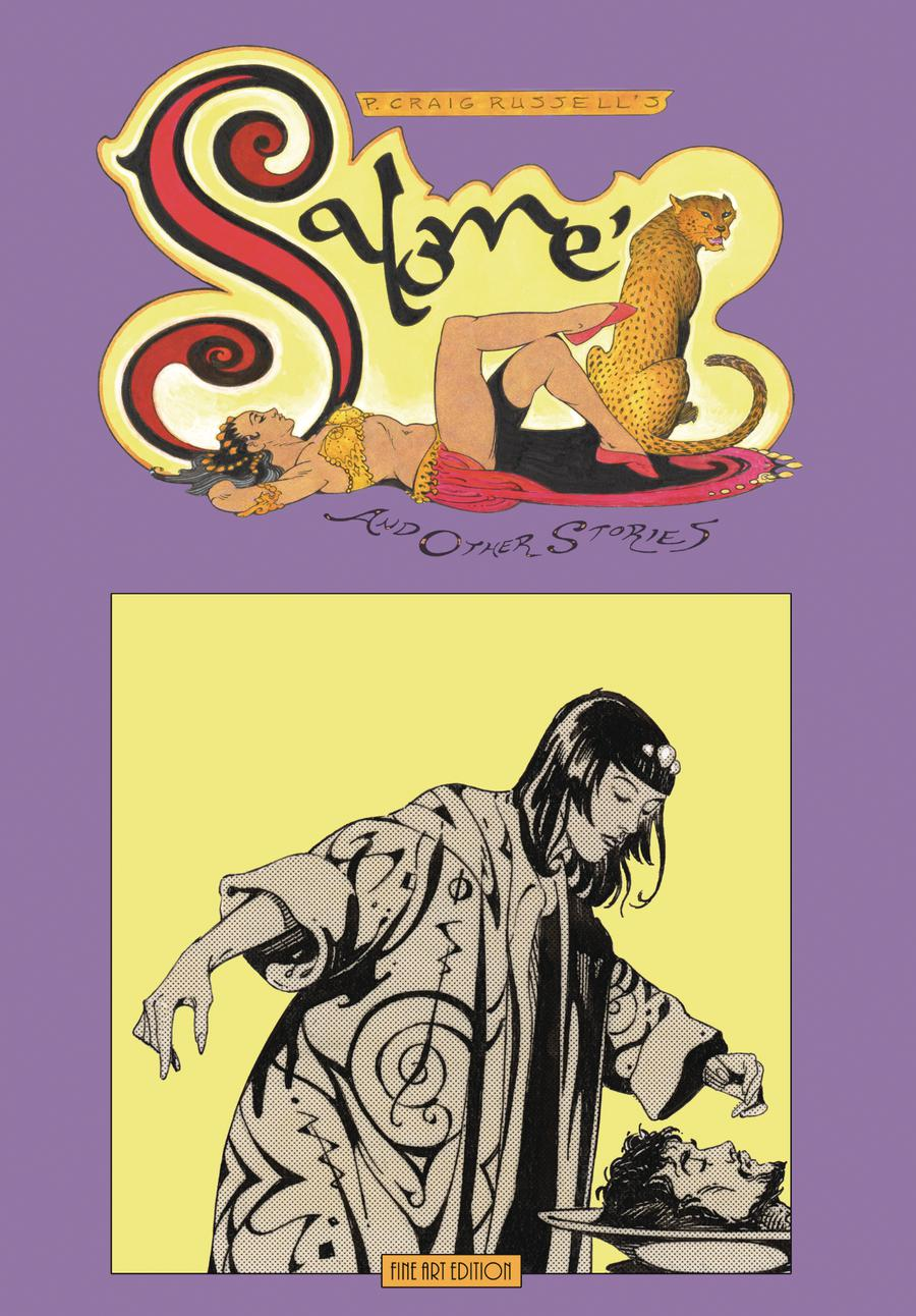P Craig Russells Salome And Other Stories Fine Art Edition HC Signed & Numbered Edition