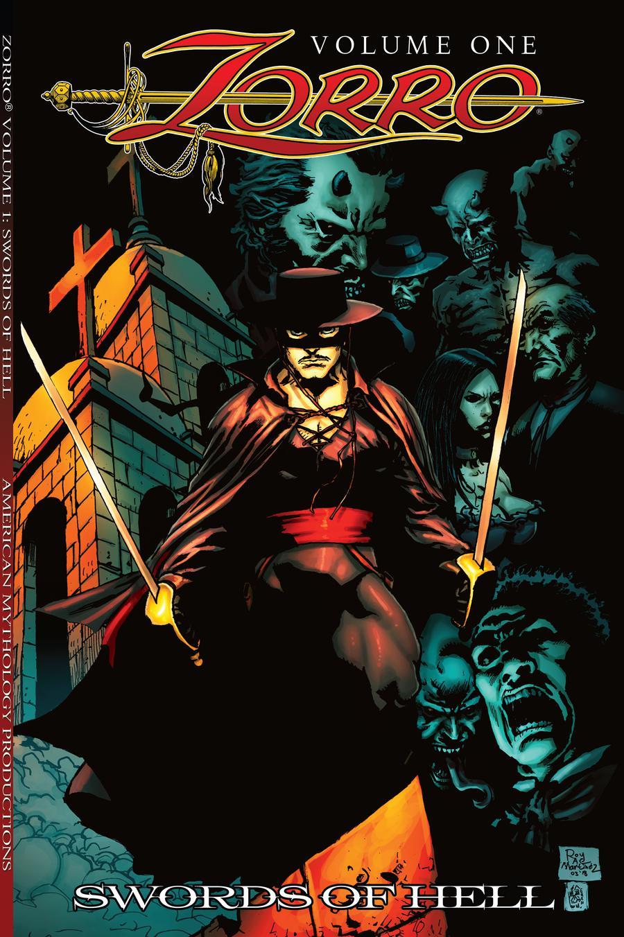 Zorro Vol 1 Swords Of Hell TP