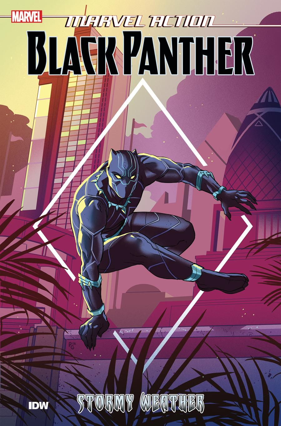 Marvel Action Black Panther Book 1 Stormy Weather TP