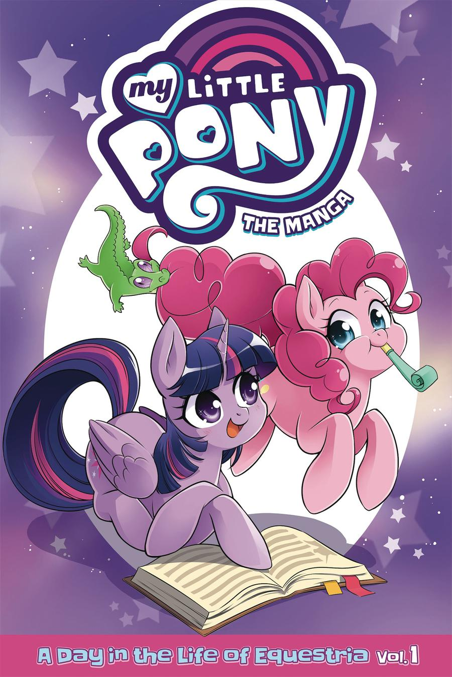 My Little Pony Manga A Day In The Life Of Equestria Vol 1 GN