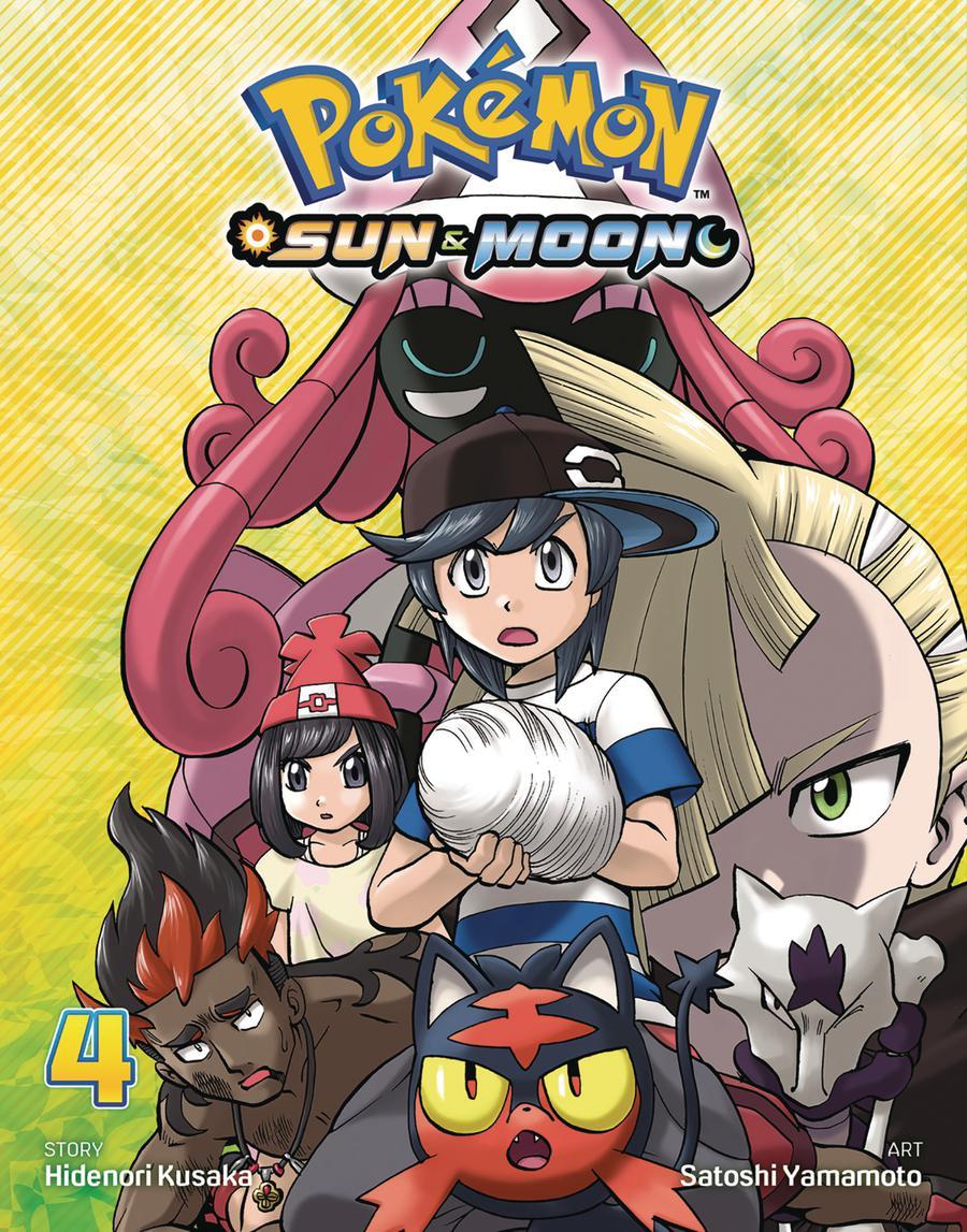 Pokemon Sun & Moon Vol 4 GN