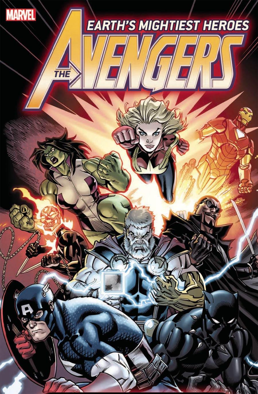 FCBD 2019 Avengers By Ed McGuinness Poster