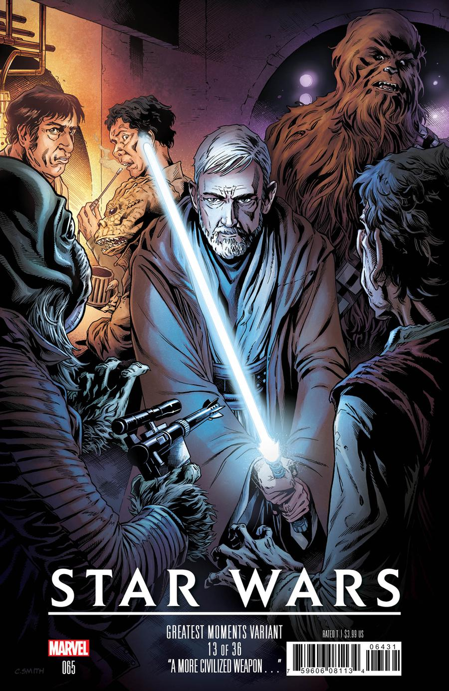 Star Wars Vol 4 #65 Cover C Variant Cory Smith Greatest Moments Cover