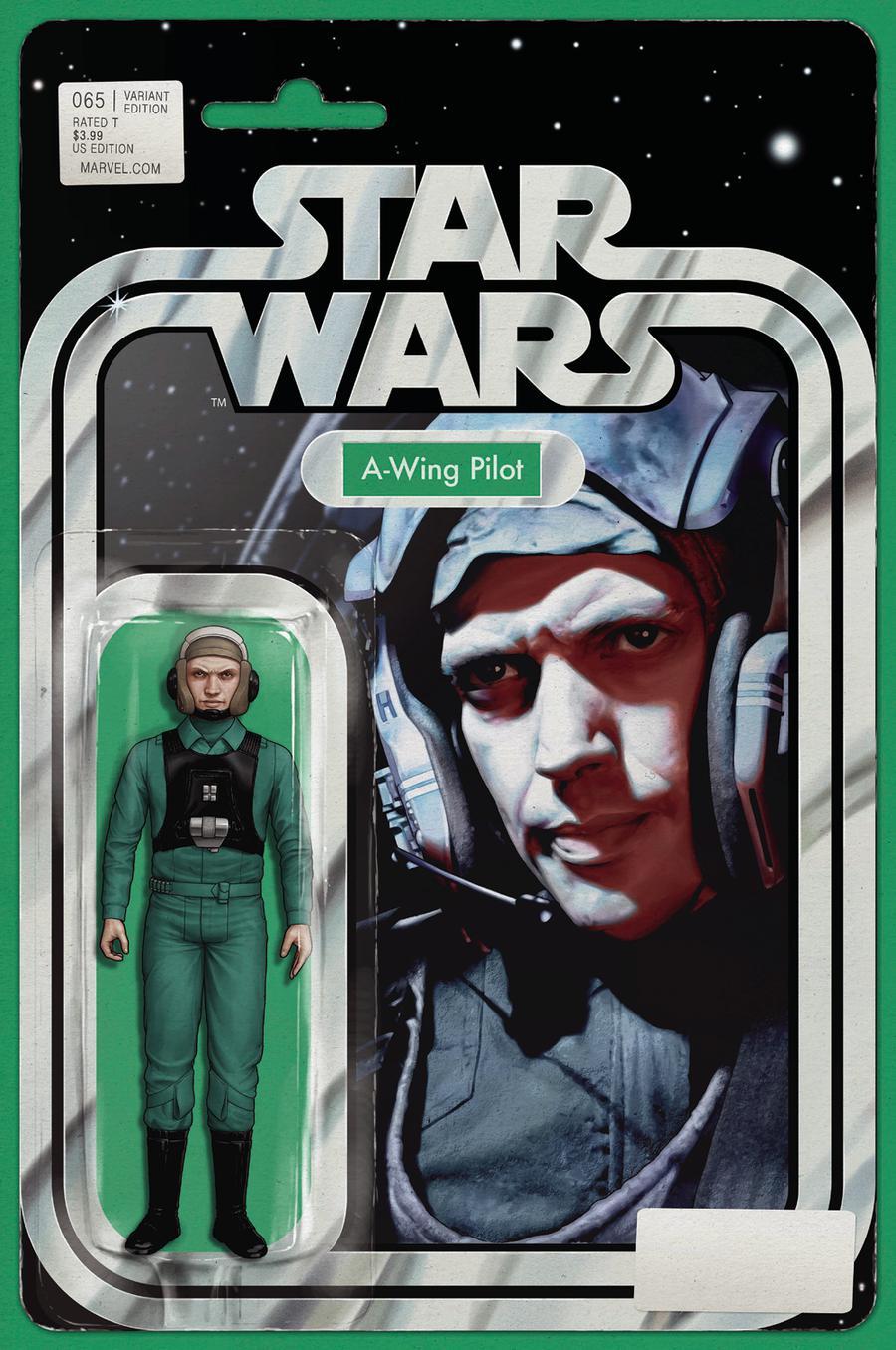 Star Wars Vol 4 #65 Cover B Variant John Tyler Christopher Action Figure Cover