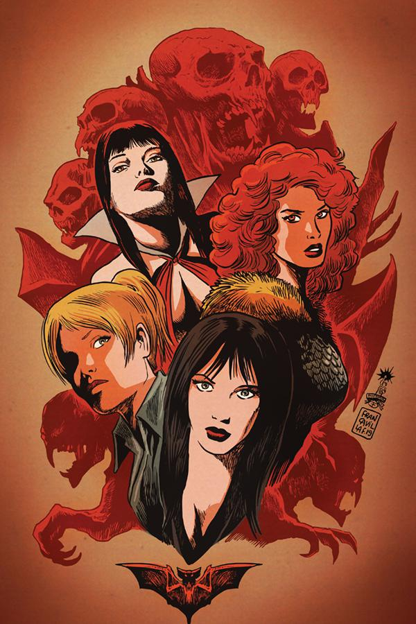 Red Sonja And Vampirella Meet Betty And Veronica #1 Cover L Incentive Francesco Francavilla Virgin Cover