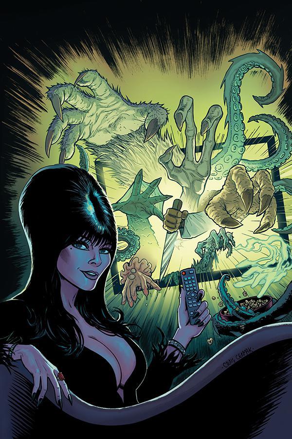 Elvira Mistress Of The Dark Vol 2 #10 Cover F Incentive Craig Cermak Virgin Cover