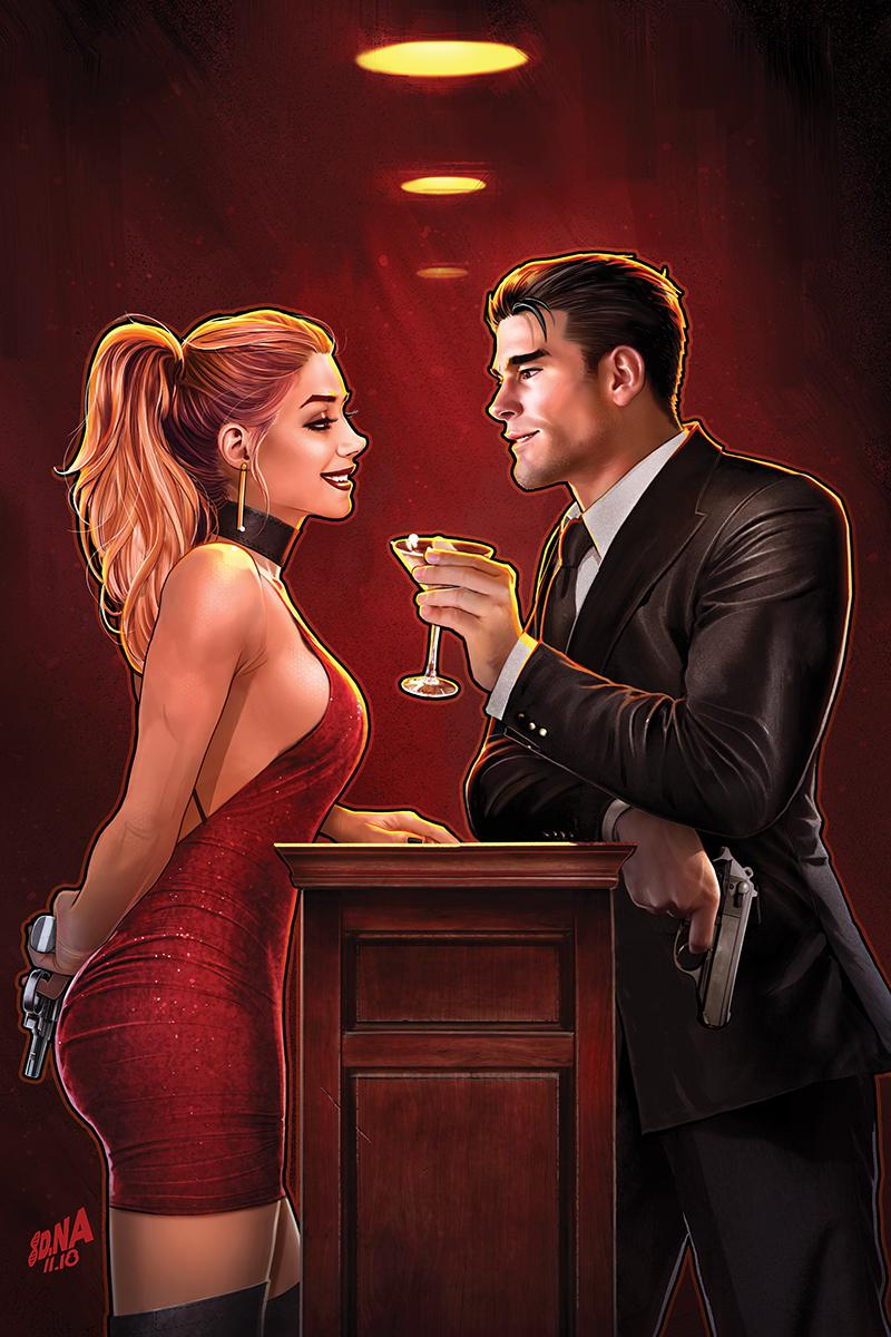 James Bond 007 #7 Cover G Incentive David Nakayama Virgin Cover