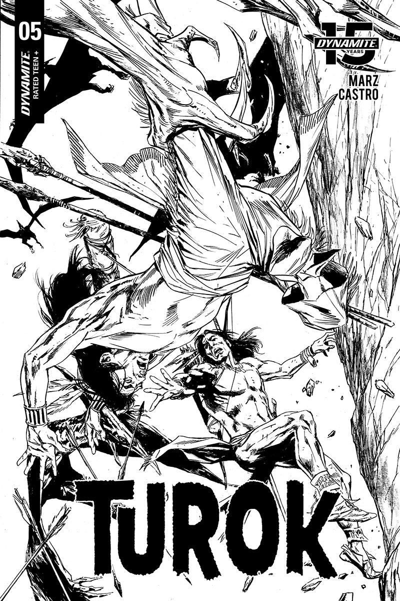 Turok Vol 3 #5 Cover D Incentive Butch Guice Black & White Cover