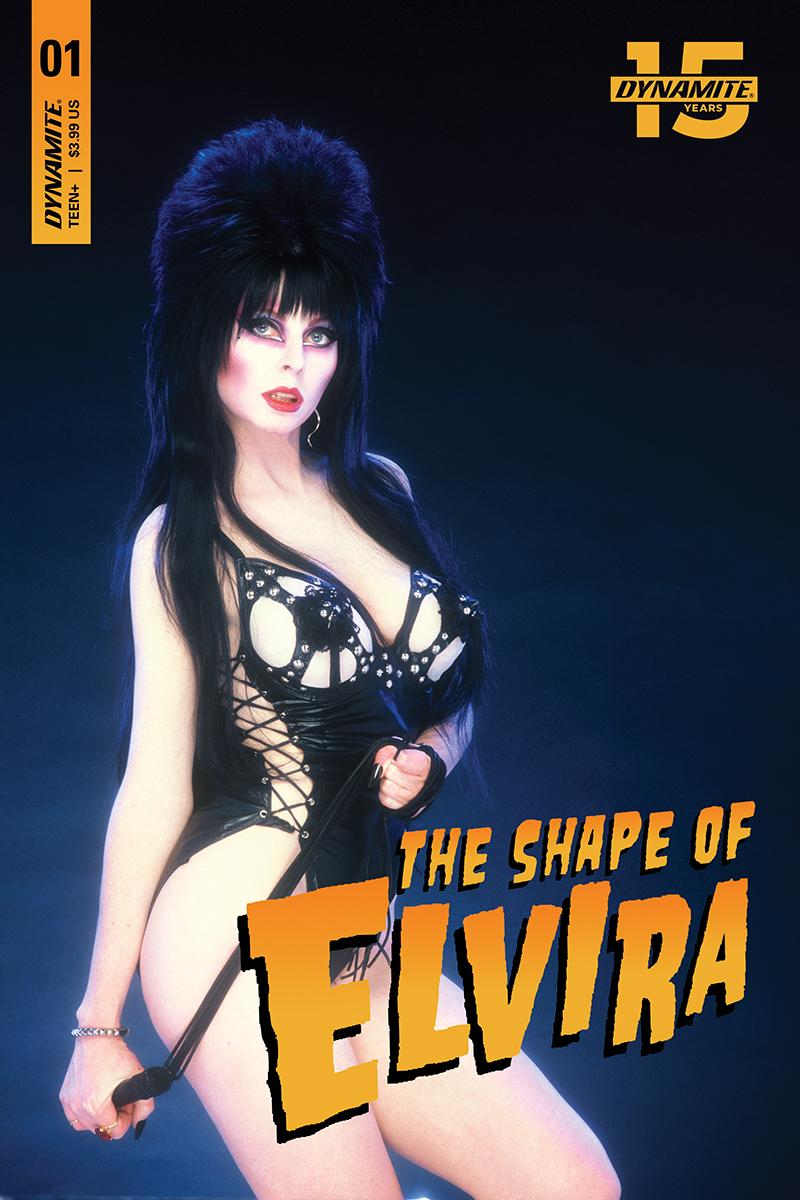 Elvira Shape Of Elvira #1 Cover N Limited Edition Photo Cover CGC Graded