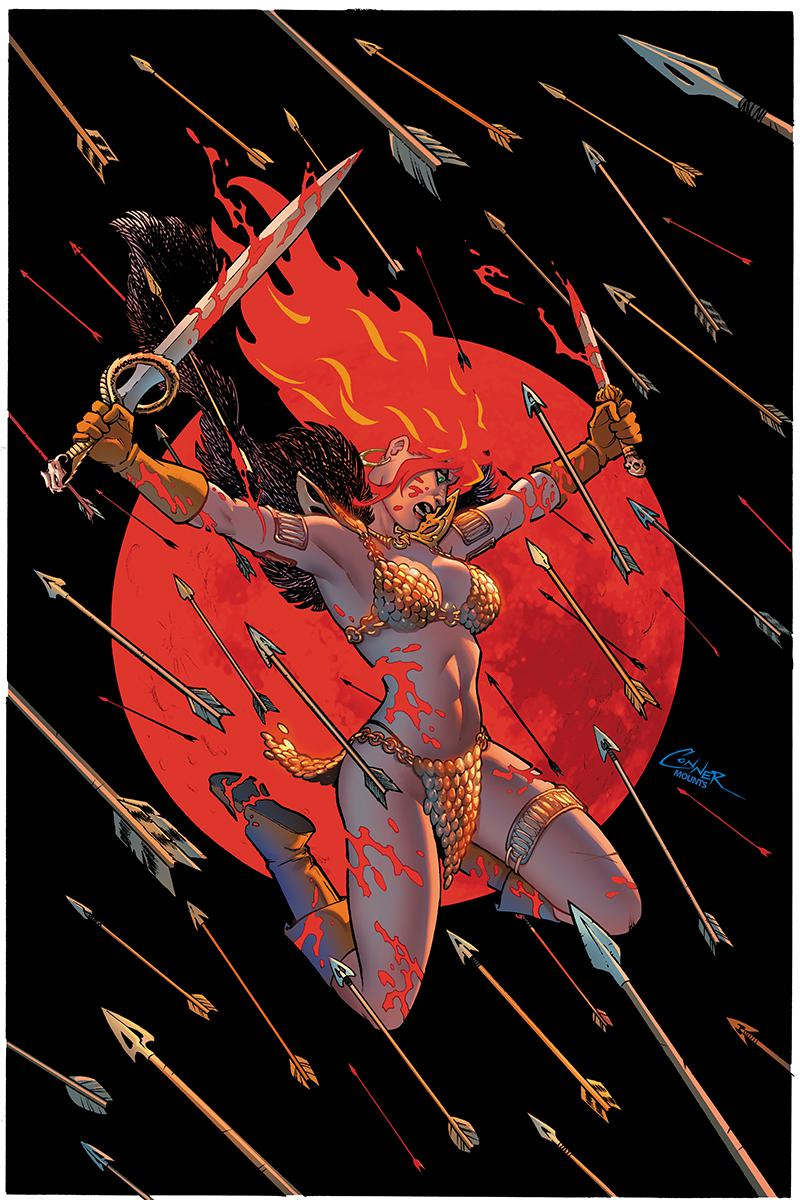 Red Sonja Vol 8 #2 Cover K Limited Edition Amanda Conner Virgin Cover