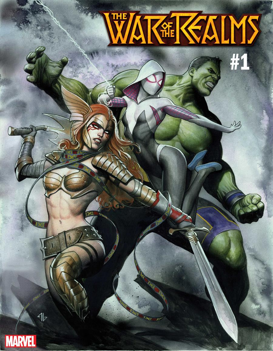 War Of The Realms #1 Cover H Variant Adi Granov Cover