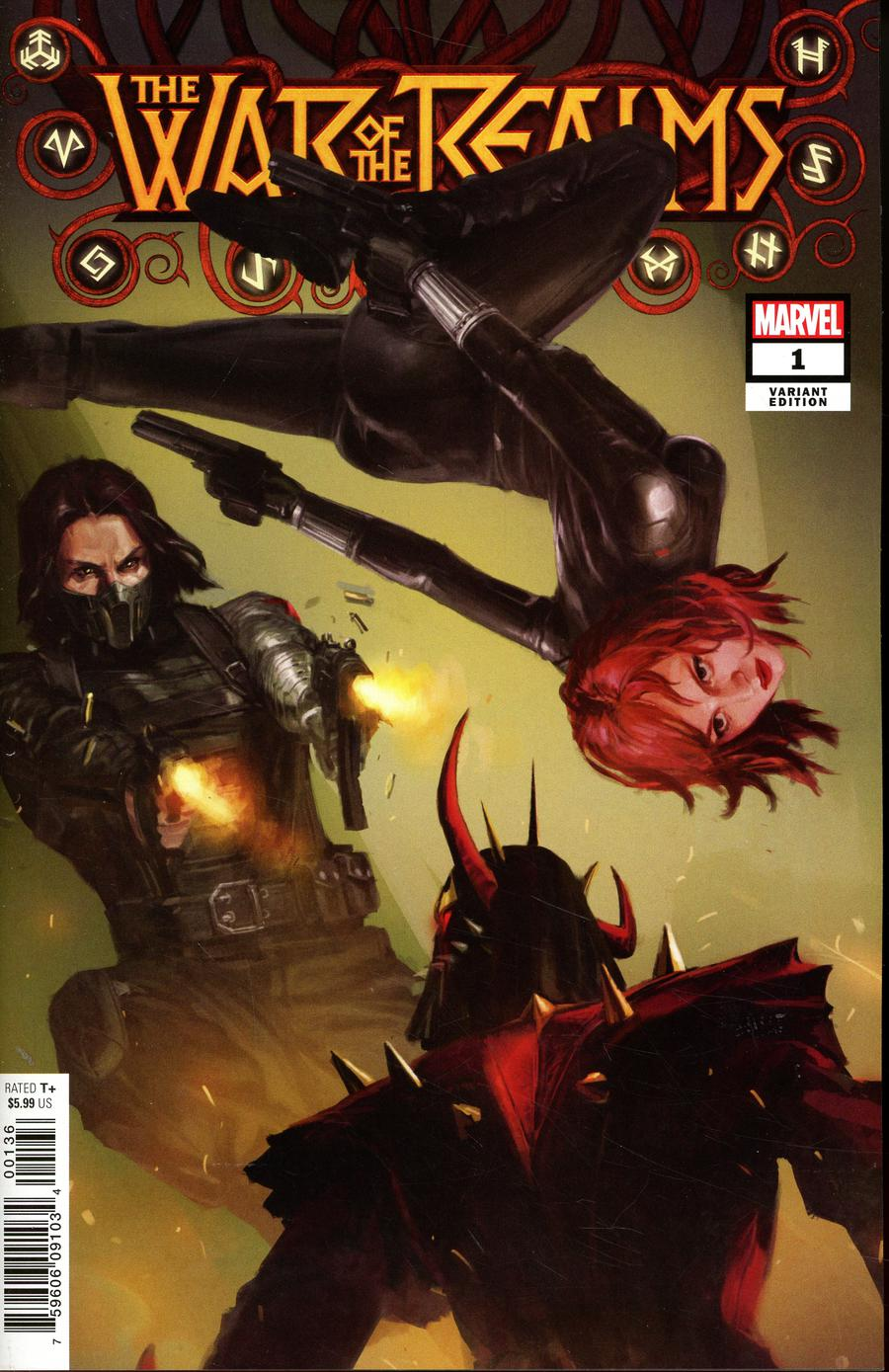 War Of The Realms #1 Cover L Variant Pyeong Jun Park Cover