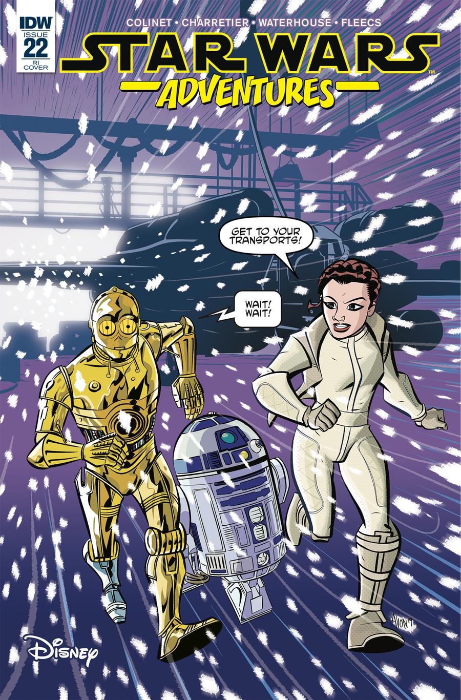 Star Wars Adventures #22 Cover C Incentive Michael Avon Oeming Variant Cover