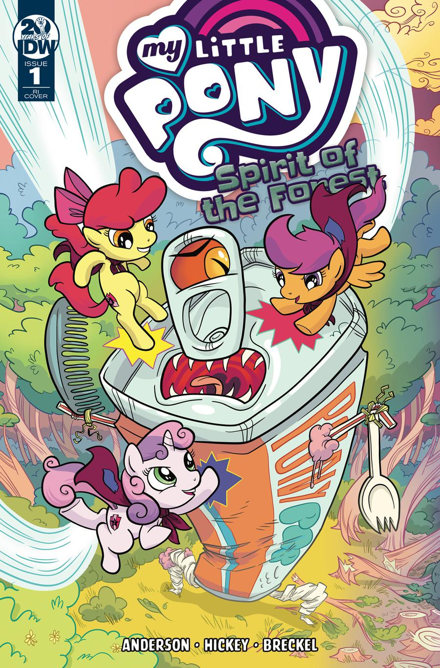 My Little Pony Spirit Of The Forest #1 Cover C Incentive Kate Sherron Variant Cover