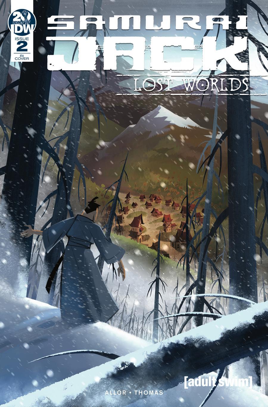 Samurai Jack Lost Worlds #2 Cover C Incentive Sara Pitre-Durocher Variant Cover
