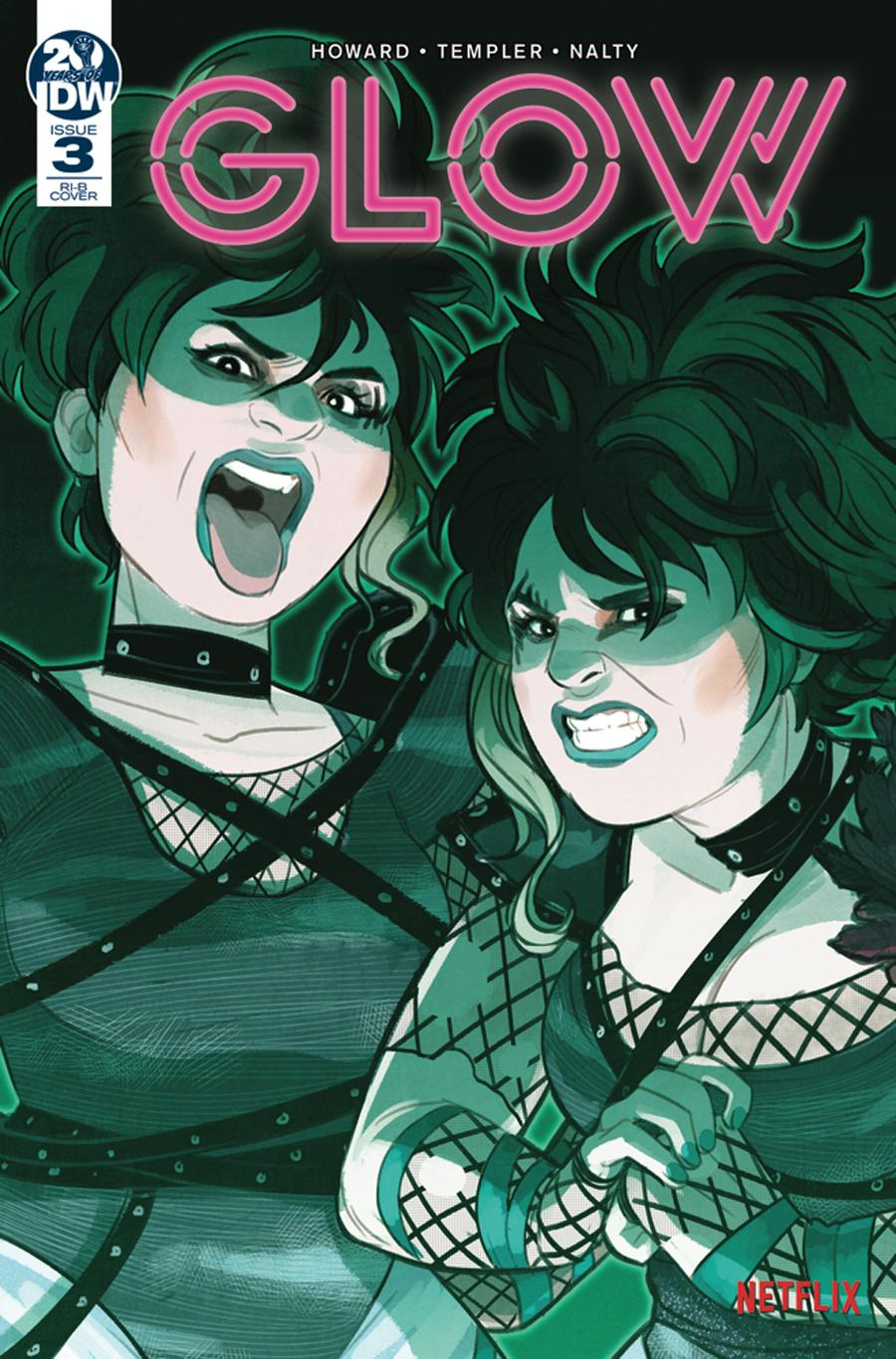 GLOW #3 Cover C Incentive Jenn St-Onge Variant Cover
