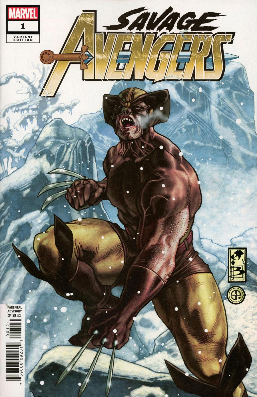 Savage Avengers #1 Cover F Incentive Simone Bianchi Variant Cover