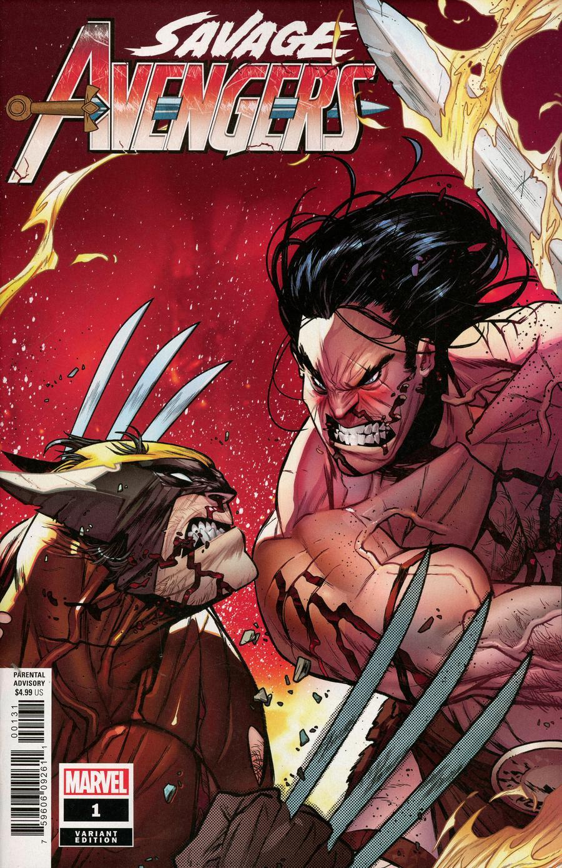Savage Avengers #1 Cover E Incentive Kim Jacinto Variant Cover