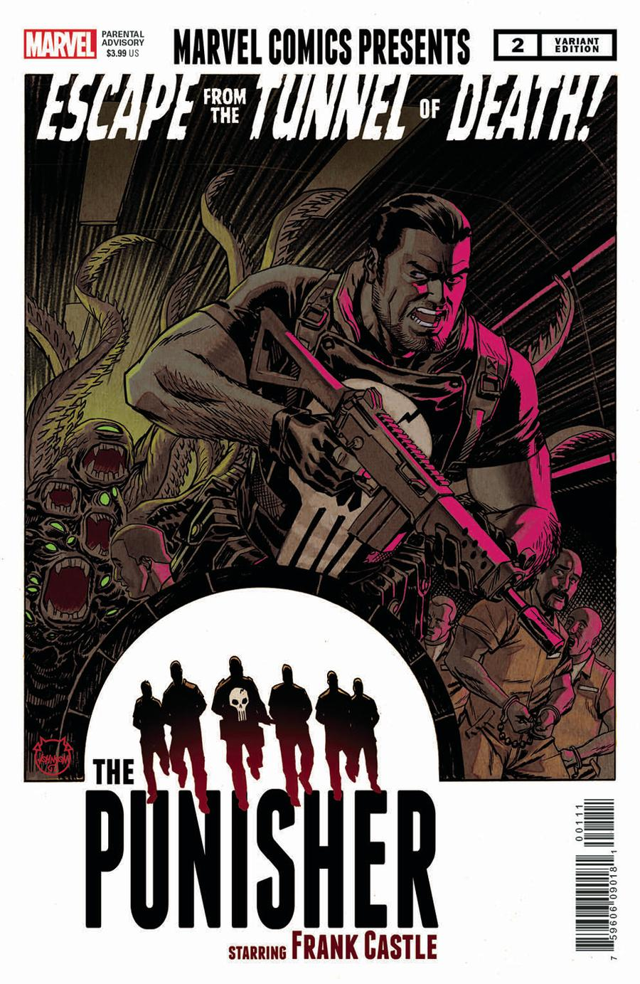 War Of The Realms Punisher #2 Cover B Incentive Dave Johnson Variant Cover