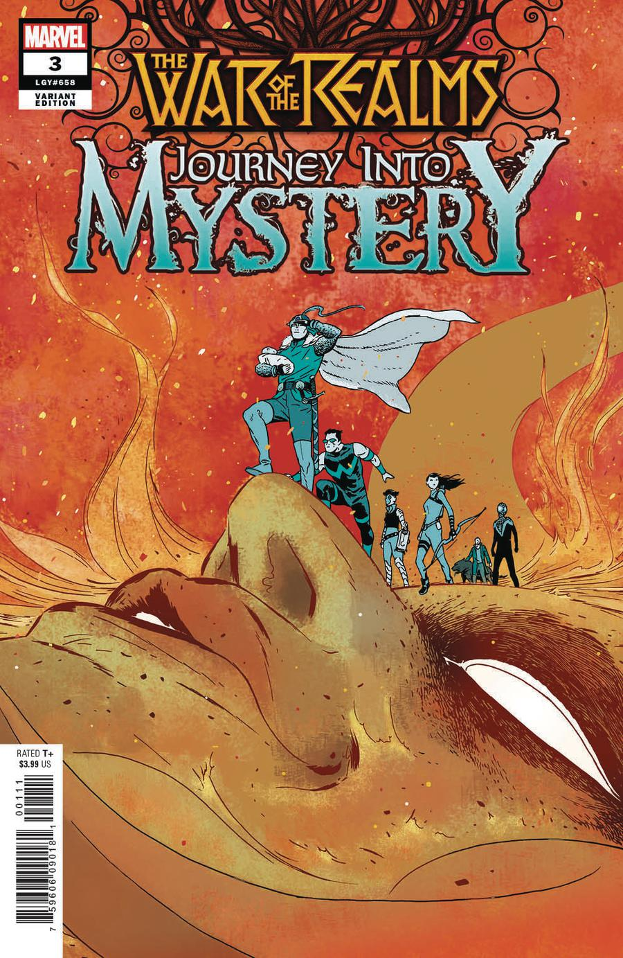 War Of The Realms Journey Into Mystery #3 Cover B Incentive Marcos Martin Variant Cover