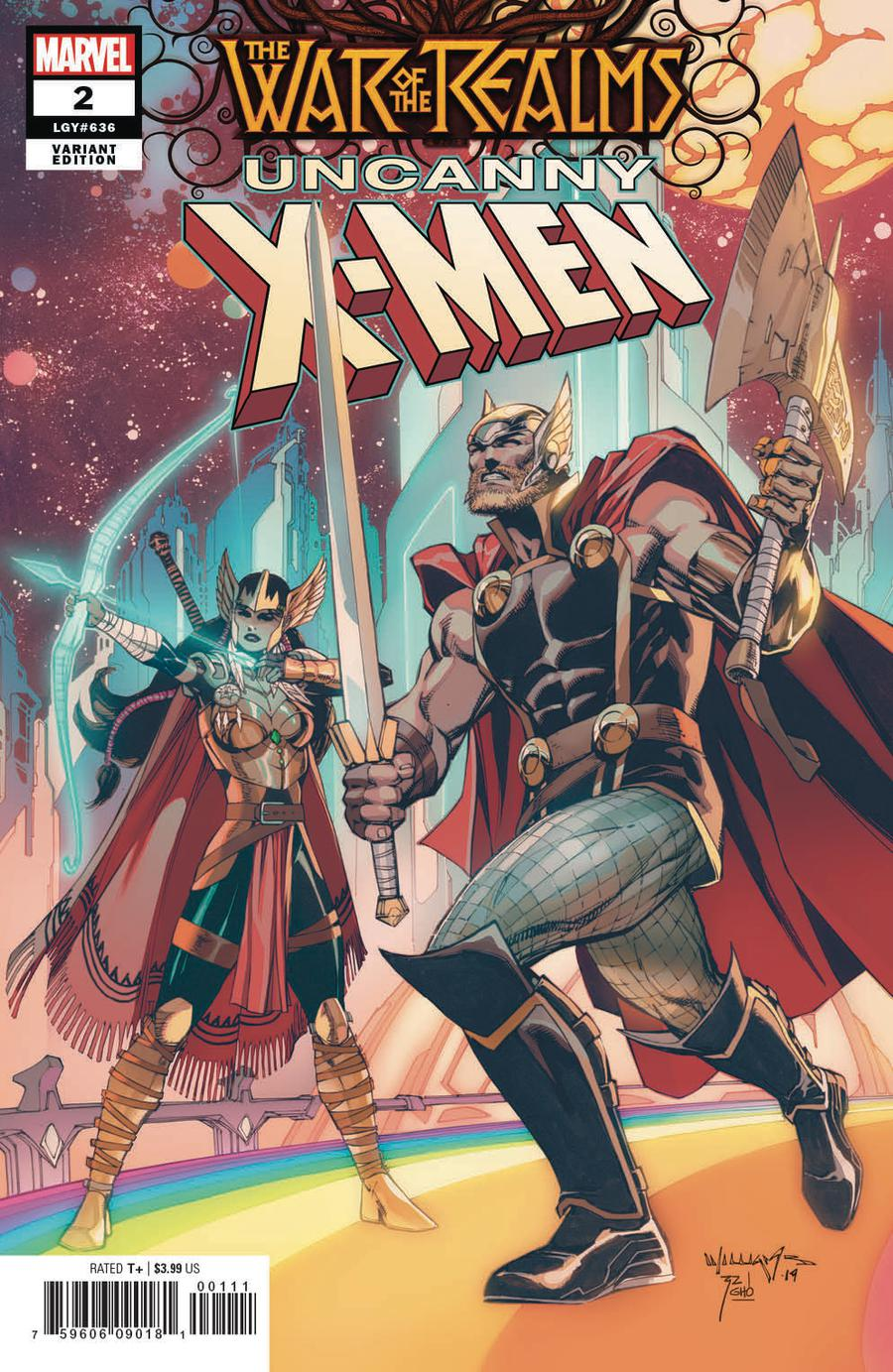 War Of The Realms Uncanny X-Men #2 Cover B Incentive Scott Williams Variant Cover
