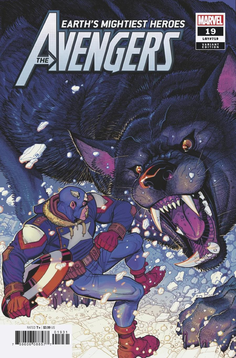 Avengers Vol 7 #19 Cover C Incentive Nick Bradshaw Variant Cover (War Of The Realms Tie-In)