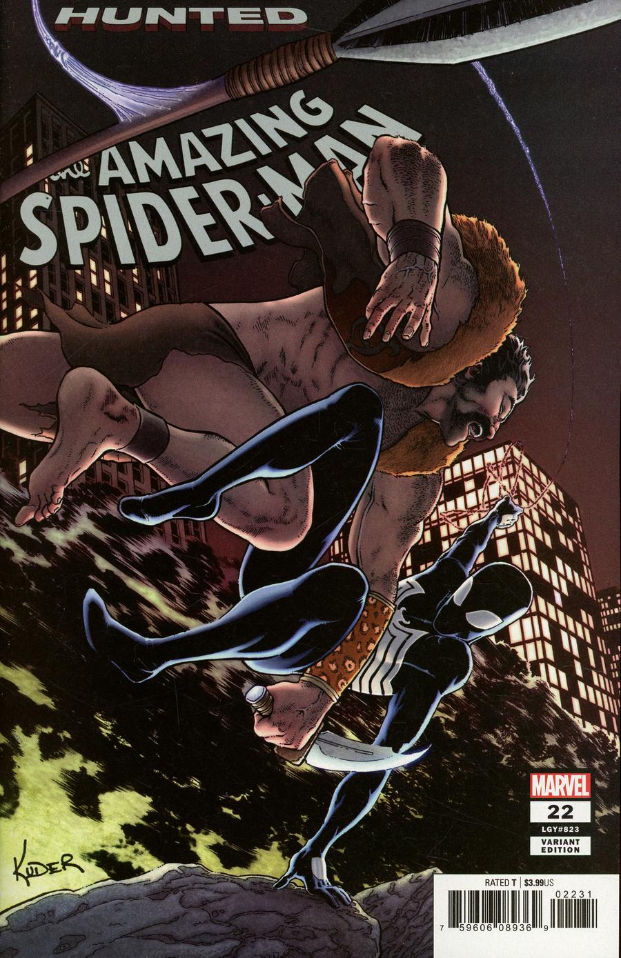 Amazing Spider-Man Vol 5 #22 Cover D Incentive Aaron Kuder Variant Cover