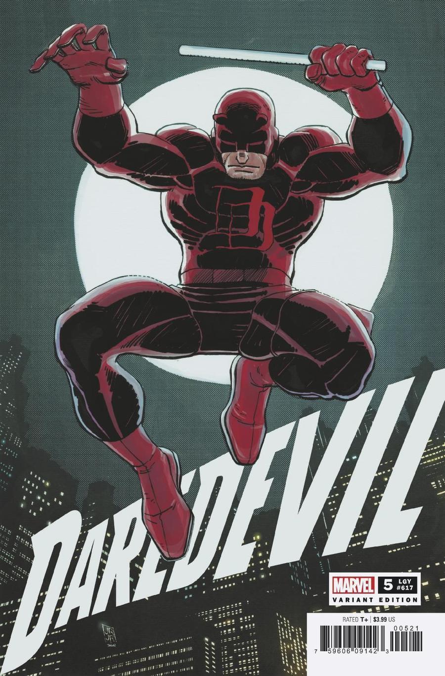 Daredevil Vol 6 #5 Cover B Incentive John Romita Jr Hidden Gem Variant Cover