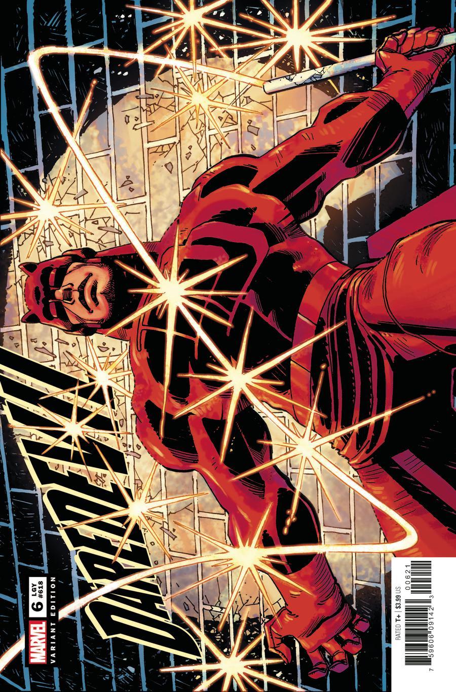 Daredevil Vol 6 #6 Cover B Incentive John Romita Jr Hidden Gem Variant Cover