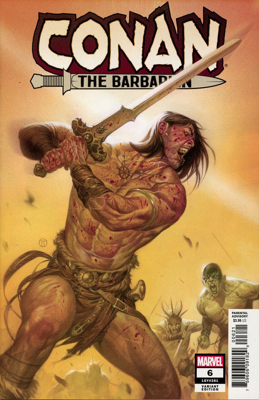 Conan The Barbarian Vol 4 #6 Cover B Incentive Julian Totino Tedesco Variant Cover