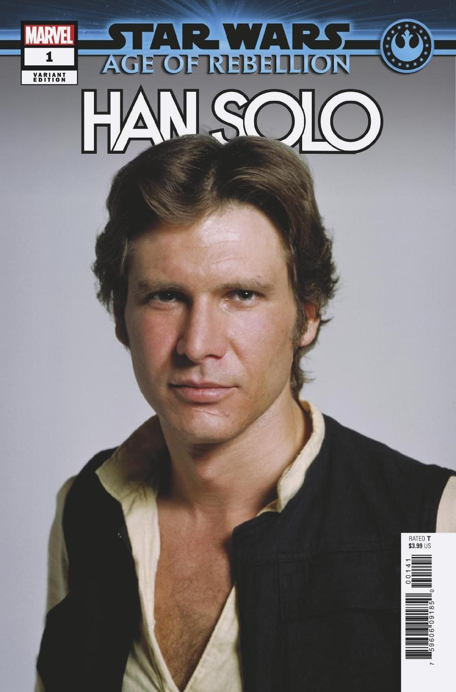 Star Wars Age Of Rebellion Han Solo #1 Cover F Incentive Movie Variant Cover