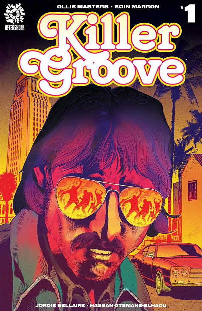 Killer Groove #1 Cover B Incentive Cliff Richards Variant Cover