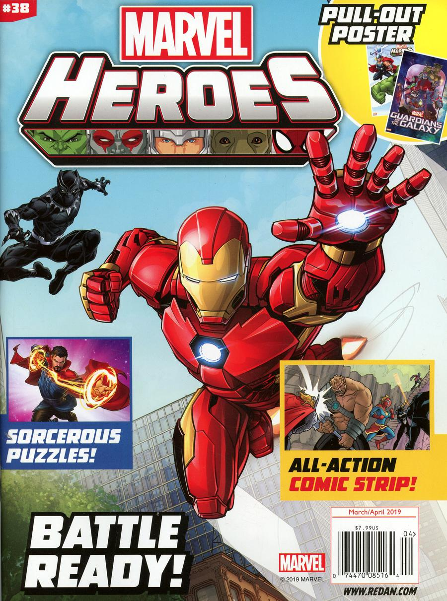 Marvel Super-Heroes Magazine #38 March / April 2019