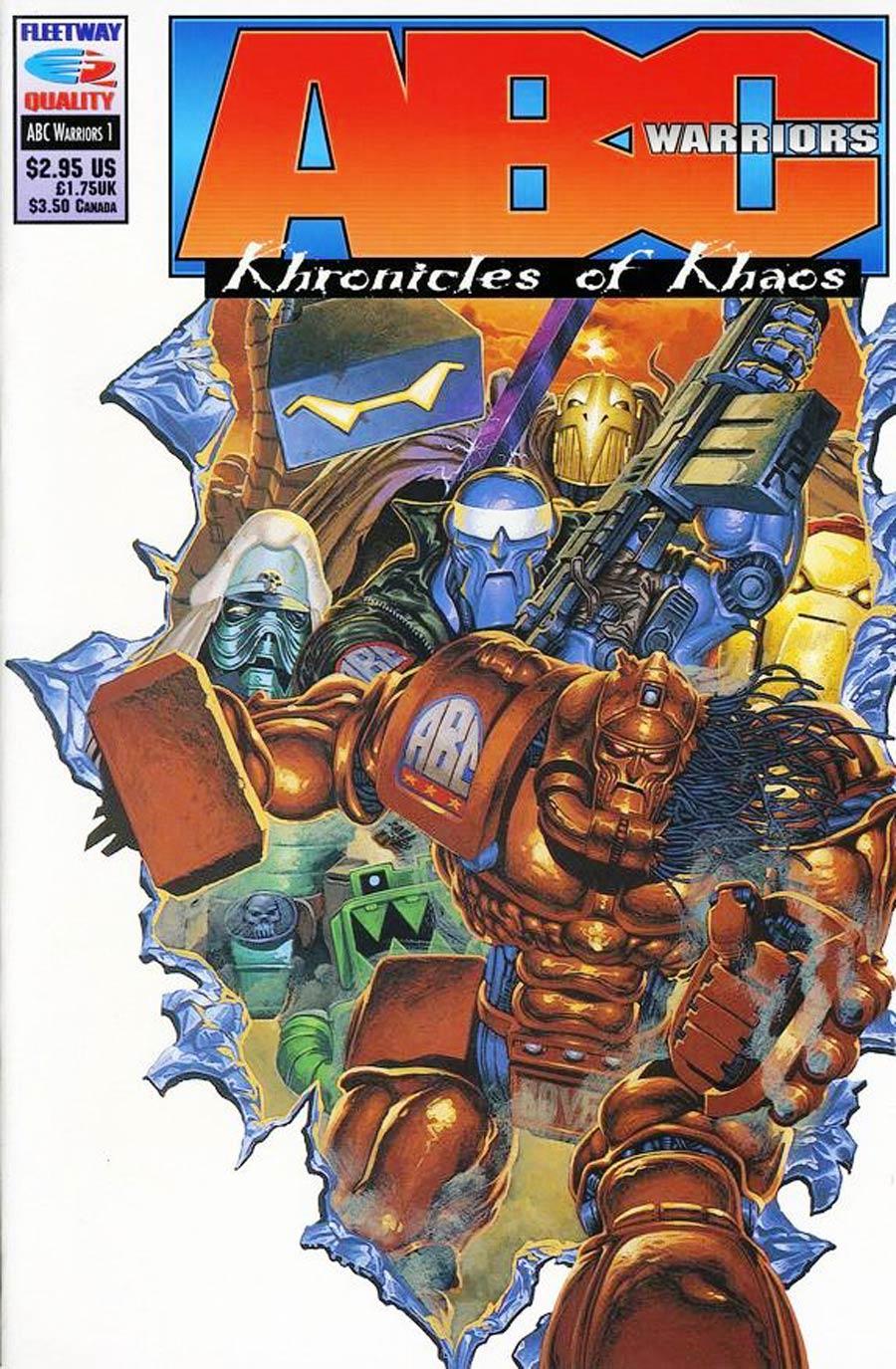 ABC Warriors Khronicles of Khaos #1