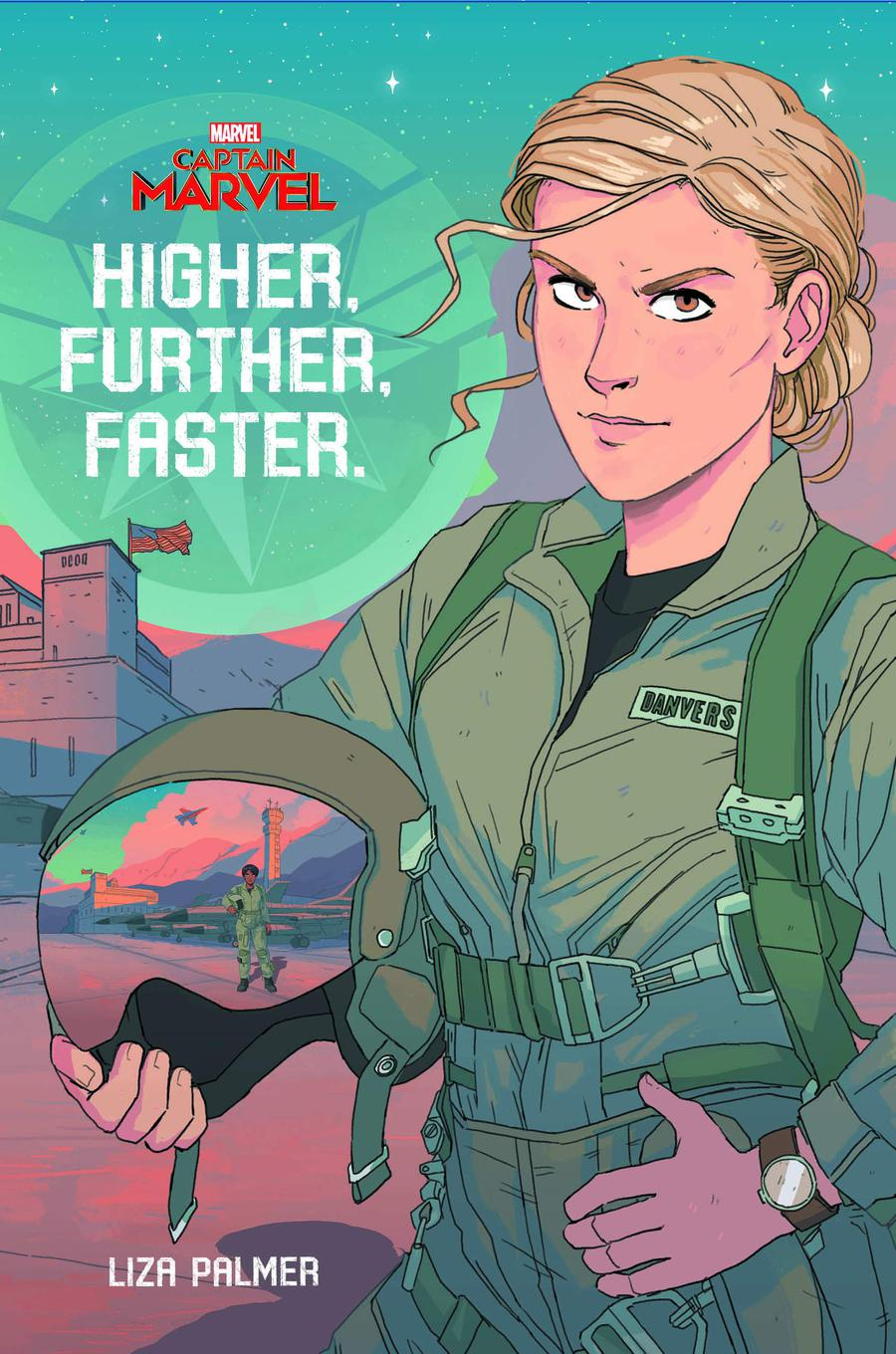Captain Marvel Higher Further Faster HC
