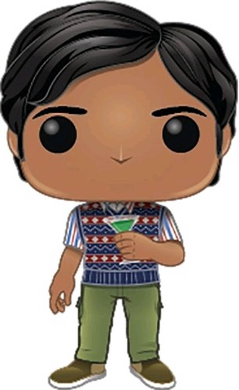 POP Television Big Bang Theory Series 2 Raj Vinyl Figure